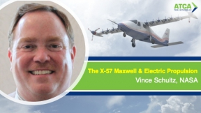 The X-57 Maxwell and Electric Propulsion Tech Talk with Vince Schultz, NASA Langley