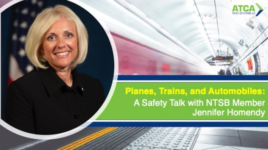 Planes, Trains, and Automobiles: Safety Talk with NTSB Member Jennifer Homendy
