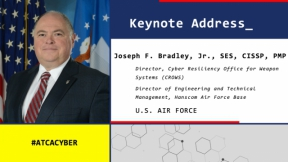 Keynote and Tech Talk: Cybersecurity Integration – From Acquisition to Airspace 10.22.20