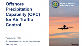 Offshore Precipitation Capability for Air Traffic Control