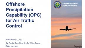 Offshore Precipitation Capability for Air Traffic Control